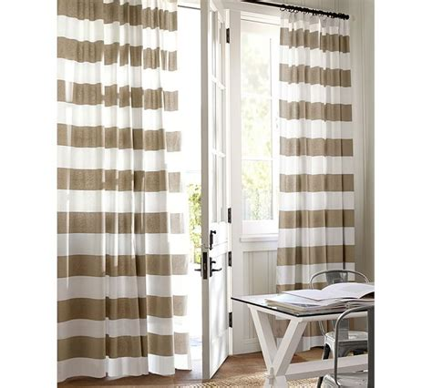 pottery barn striped curtains pottery barn classic stripe drapes decor look alikes