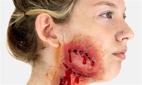 zombie bite makeup tutorial scary costumes for halloween halloweencostumes com
