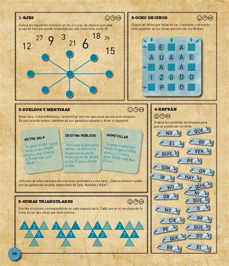 1001 juegos de inteligencia para toda la familia 1001 brain teasers for the whole family gratis libro pdf descargar 1001 juegos
