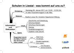 Digitaldruck Liestal by Offene Stellen