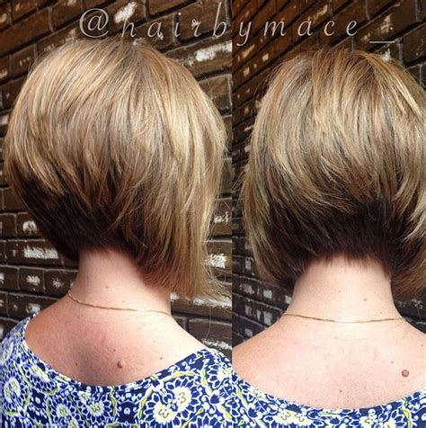pictures of stacked angled bobon older woman 21 stacked bob hairstyles you ll want to copy now styles