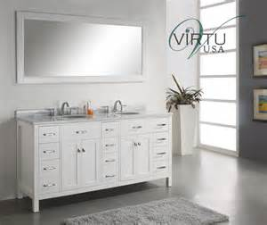 72 Vanity Cabinets For Bathrooms 72 Inch Sink Bathroom Vanity With Carerra White
