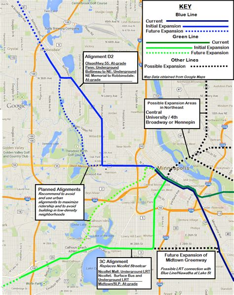 Minneapolis Light Rail Green Line by 301 Moved Permanently