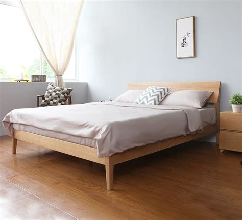 White Wooden Bed Frame Singapore Wooden Bed Frame Antoine Wooden Bed Frame