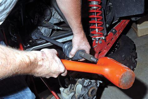 utv action magazine how to replace cvs axles