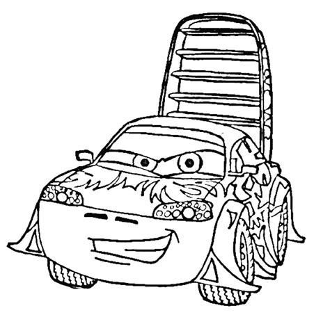 Carros Cars Disney Az Dibujos Para Colorear Cars The Coloring Pages