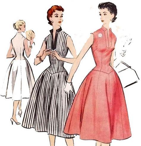 sewing pattern vintage free vintage 1950 s rockabilly dress sewing pattern