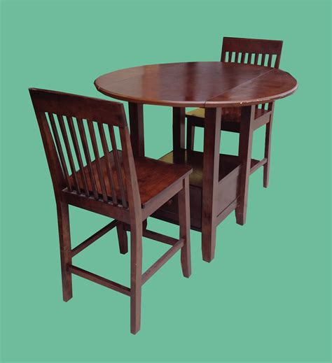 Drop Leaf Pub Table Uhuru Furniture Collectibles Drop Leaf Pub Table 2 Stools 250 Sold