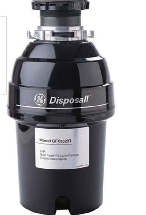 ge gfc1020v 1 horsepower deluxe continuous feed disposall