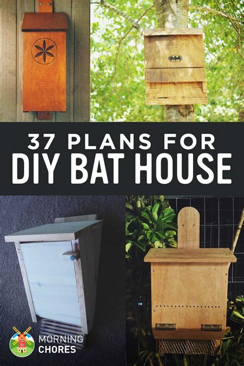 diy house plans 37 free diy bat house plans that will attract the natural