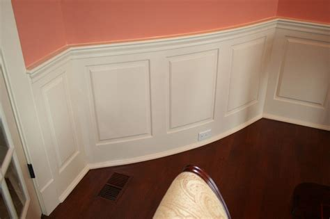 Dining Room Wainscoting Panels Classic Curved Raised Panel Wainscoting By Wainscoting