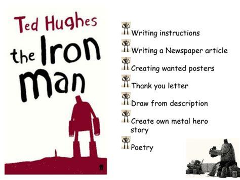 ted hughes iron man series creative literacy
