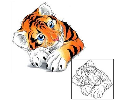 tiger tattoo design ccf 00012 | tattoojohnny.com