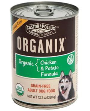 castor and pollux food castor and pollux grain free organic food with chicken and potatoes