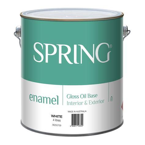 bunnings acrylic paint 4l gloss white enamel paint bunnings warehouse