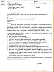 surat penawaran kerjasama contoh surat lamaran kerja cpns