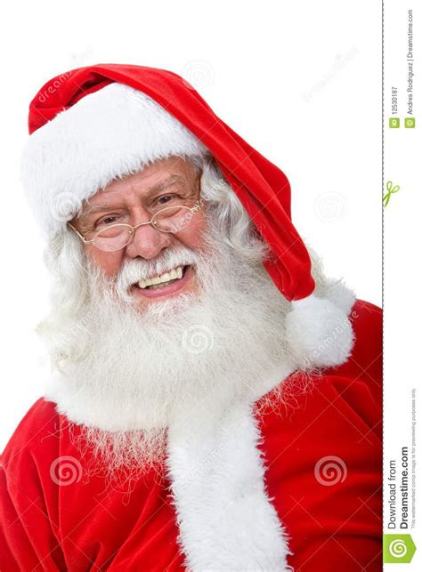 santa claus smiling royalty free stock photography image