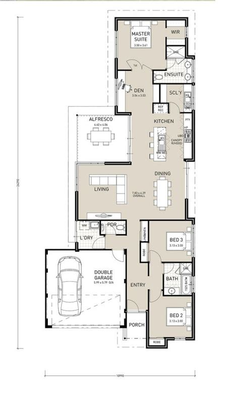 floor plans for narrow blocks the avalon narrow block plan home builder in perth