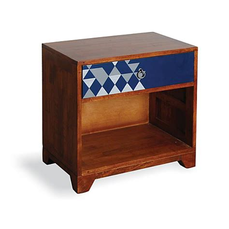 Asda Side Table Rye Bedside Table Mahogany And Blue Bedside Tables Asda Direct