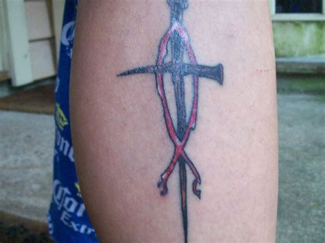 cross and fish tattoo nails cross and jesus fish