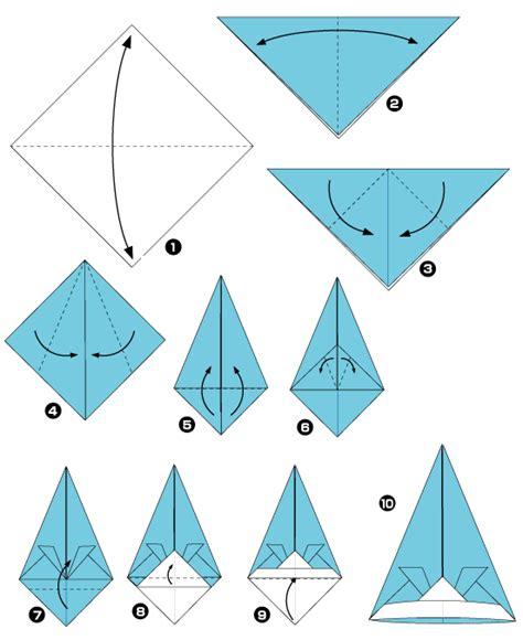 Origami Kirigami - diagramme d origami de chapeau origami facile et