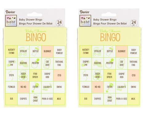 How Do You Play Baby Shower Bingo baby shower bingo the no fuss shower