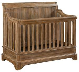 Mini Chandeliers For Nursery Bertini Pembrooke 4 In 1 Convertible Crib Natural Rustic
