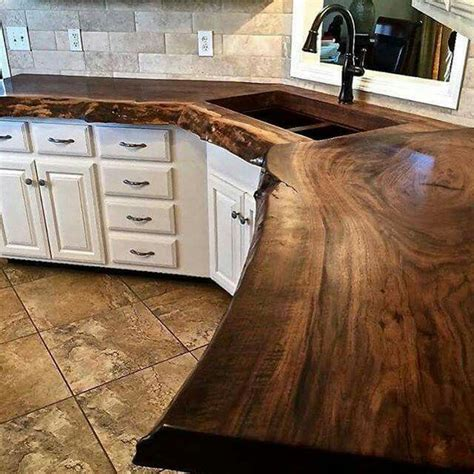 wood kitchen countertops 25 best ideas about reclaimed wood countertop on
