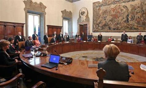 governo consiglio dei ministri governo cdm n 106 disposizioni integrative e correttive