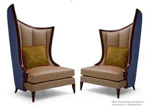 modern high back feature chairs timeless interior designer