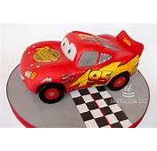 Torta Esculpida De Rayo McQueen  Pasteler&237a DC
