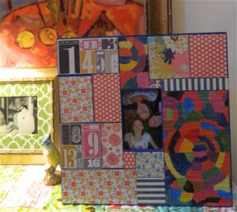 Decoupage Picture Frame Ideas - decoupage picture frame family crafts