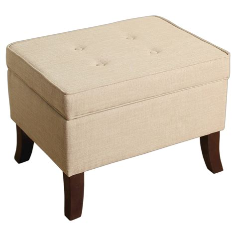 threshold storage ottoman clayton flared leg storage ottoman threshold