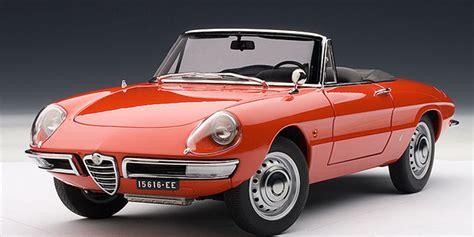1960s alfa romeo modelcar hk 187 autoart 1960s alfa romeo 1600 duetto spider