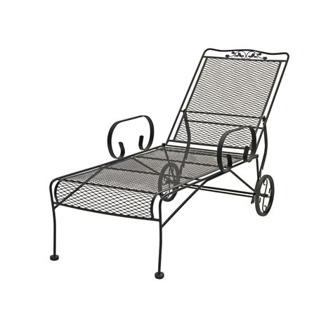 Wrought Iron Lounge Chairs by 15 Best Wrought Iron Outdoor Chaise Lounge Chairs