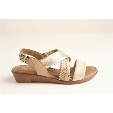 sandals with buckles paula paula beige multi contrast sandal with