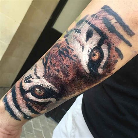 tiger tattoo on forearm 62 best tiger tattoos on forearm