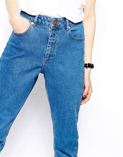 New Lace High Waistid Munafie Slim Pans Celana Renda Kawat Lyst Asos Farleigh High Waist Slim In Clean