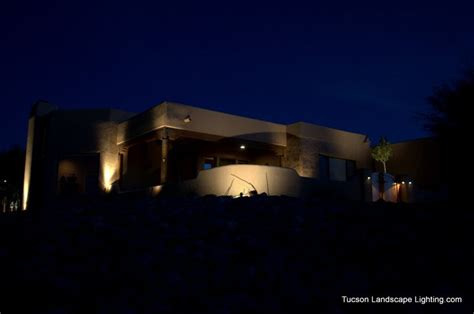 Landscape Lighting Tucson House On A Hill Tucson Landscape Lighting