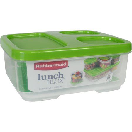 Walmart Kitchen Storage Containers by Rubbermaid Lunchblox Sandwich Storage Container Of 6