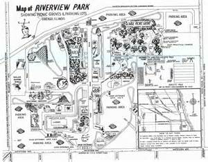 Blueprints Maker chicagoland theme parks of the 60 s and 70 s