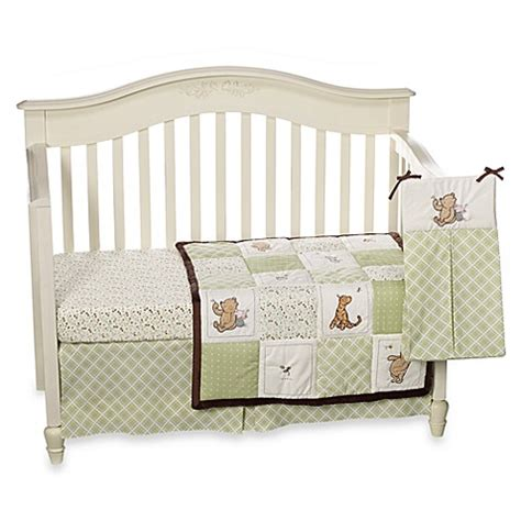 Buy Disney 174 My Friend Pooh 4 Piece Crib Bedding Set From Classic Pooh Crib Bedding Set