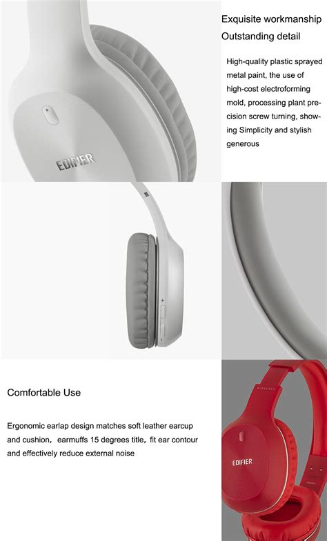 Headset Samusng 066 edifier w800bt stereo bluetooth headset wireless bluetooth headset computer noise