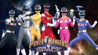 power rangers space