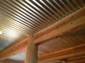 Corrugated Metal Ceiling Photos Corrugated Metal Ceilings