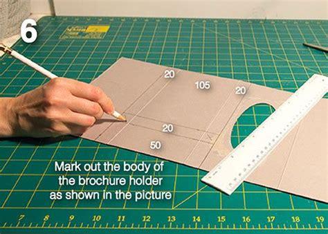 Diy Make Your Own Brochure Holder From A Tissue Box Ezipop Cardboard Brochure Holders Green Diy Brochure Template