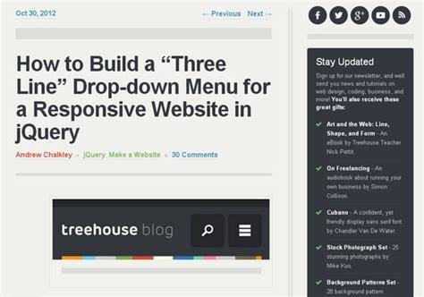 responsive design menu drop down 47 responsive design tutorials and guides smashingapps com