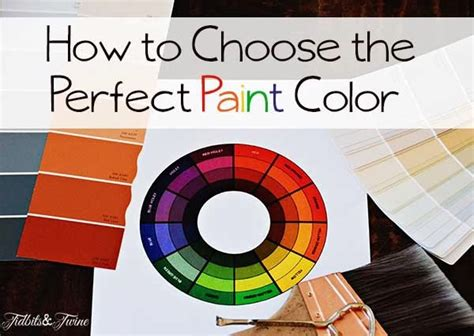 How To Choose A Wall Color | how to choose the perfect wall color diy craft projects