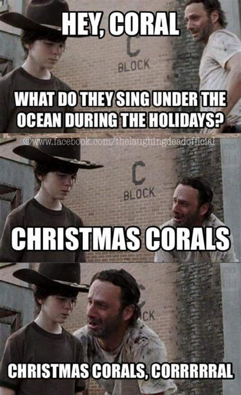 Coral Meme - 15 of the most hilarious rick grimes dad jokes that you