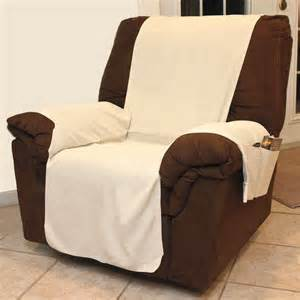 new durable chenille recliner chair cover with arm rest